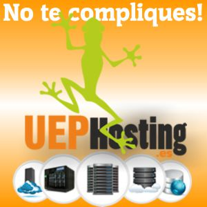 UEPhosting alojamiento web y dominios